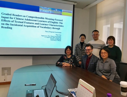 PhD Thesis Proposal Assessment (Ding Chen)