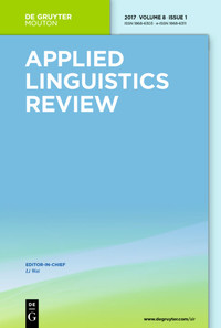 Applied Linguistics Review (SSCI)