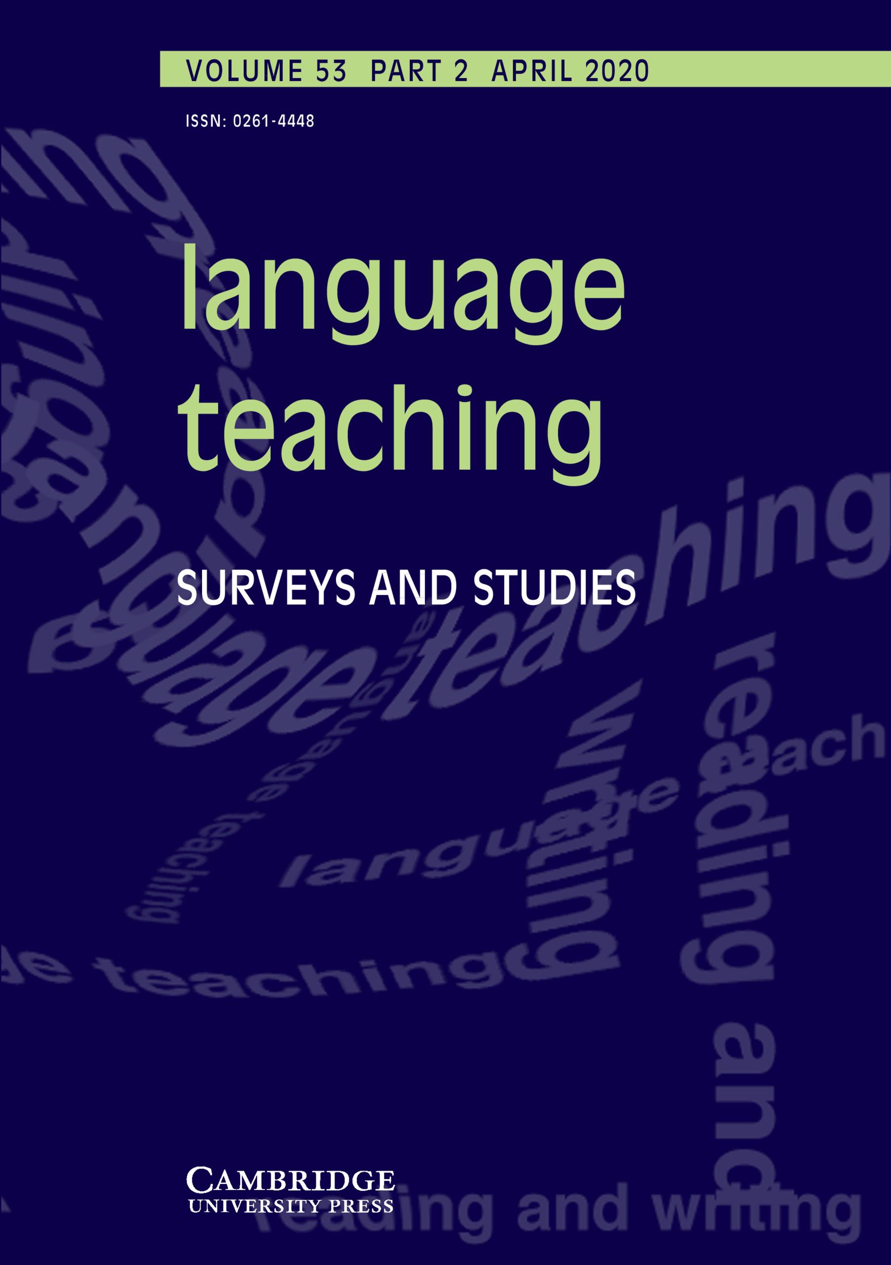 Language Teaching (SSCI)