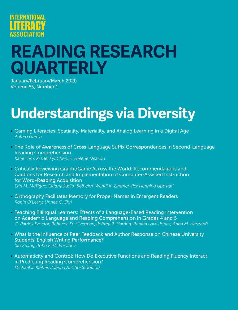 Reading Research Quarterly (SSCI)