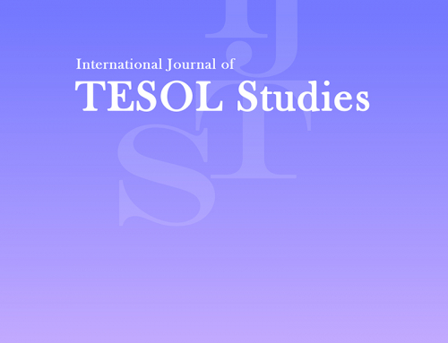 Call for Papers for the Special Issue of International Journal of TESOL Studies