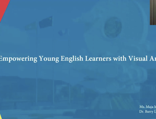 Empowering young English learners with visual arts