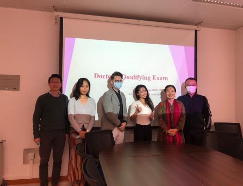 PhD Qualifying Exam (Tianjiao SONG, Tina)