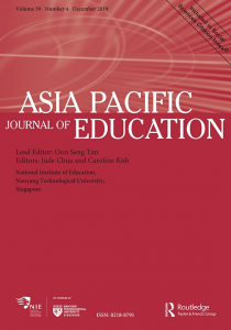 Asia Pacific Journal of Education (SSCI)